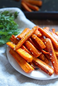 Sesame-Roasted-Carrots
